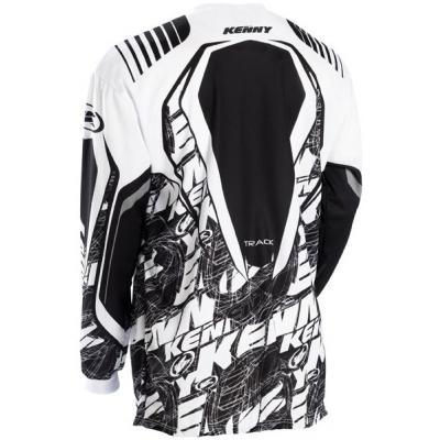 KENNY dres TRACK 12 LE dětský black/white