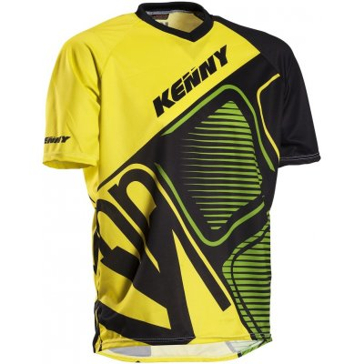 KENNY cyklo dres STREAK 13 green/yellow