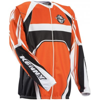 KENNY cyklo bunda ENDURO LIGHT ZIP 13 orange