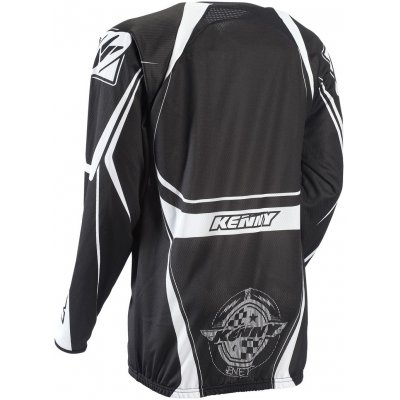 KENNY cyklo bunda ENDURO LIGHT ZIP 13 black