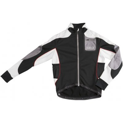 KENNY bunda SOFTSHELL TECK 12 black/grey