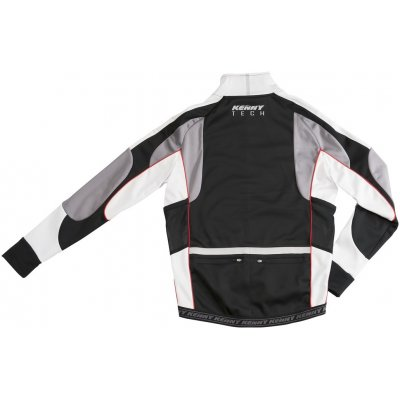 KENNY cyklo bunda SOFTSHELL TECK 12 black/grey