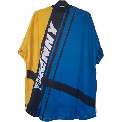 KENNY cyklo dres KROSS blue/yellow