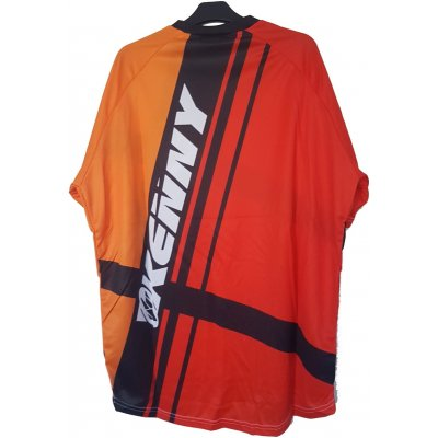 KENNY cyklo dres KROSS orange/red