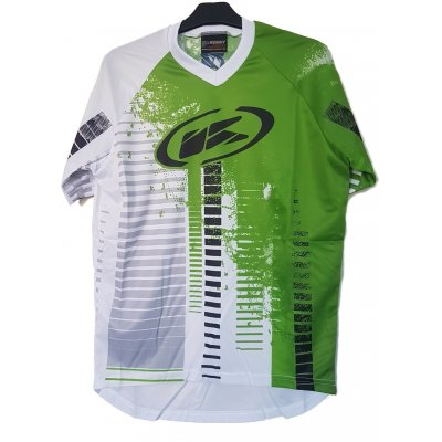 KENNY cyklo dres STEP white/green