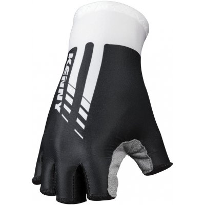 KENNY cyklo rukavice MITTEN ROUTE black/white