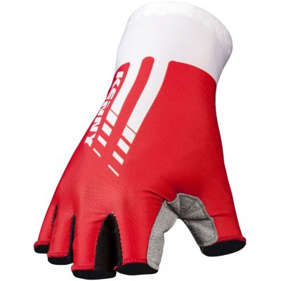 KENNY cyklo rukavice MITTEN ROUTE red/white