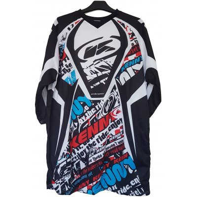 KENNY cyklo dres PERFORMANCE 12 street red