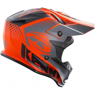 KENNY přilba PERFORMANCE 18 grey/orange