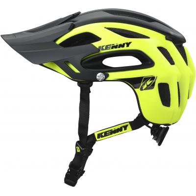 KENNY cyklo přilba S3 18 neon yellow