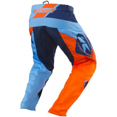 KENNY kalhoty TRACK 18 blue/orange