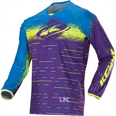 KENNY dres PERFORMANCE 18 purple lines