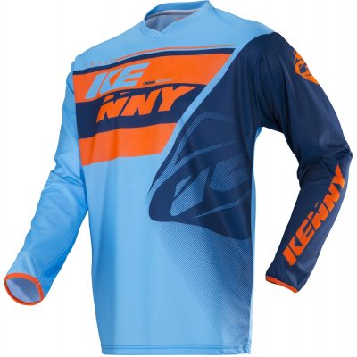 KENNY dres TRACK 18 blue/orange