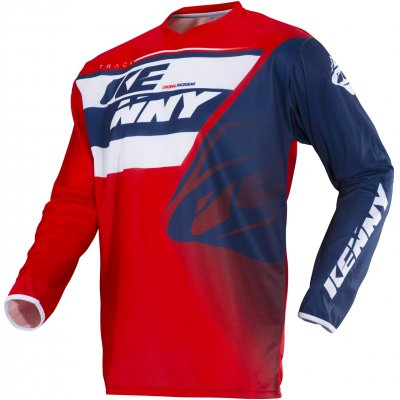 KENNY dres TRACK 18 blue/white/red