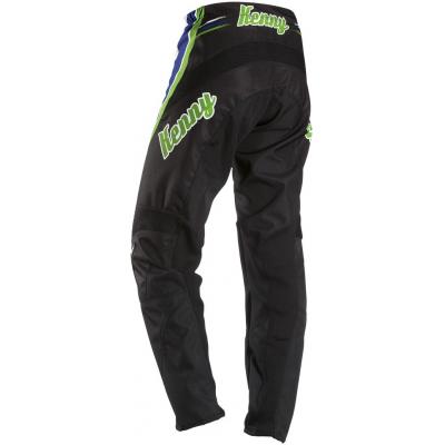 KENNY kalhoty VINTAGE 12 black/green/blue