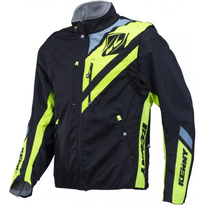 KENNY bunda ENDURO SOFTSHELL 18 black/neon yellow