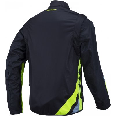 KENNY bunda ENDURO SOFTSHELL 18 black / neon yellow