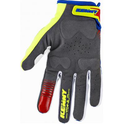 KENNY rukavice TITANIUM 18 blue/lime