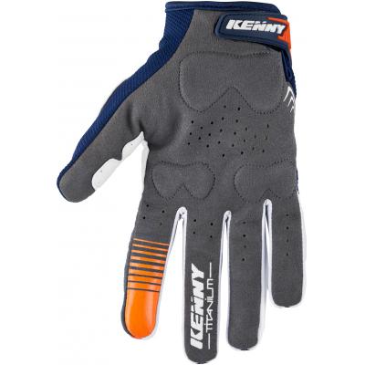 KENNY rukavice TITANIUM 18 navy/orange