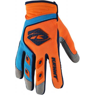 KENNY rukavice TRACK 18 orange/sky