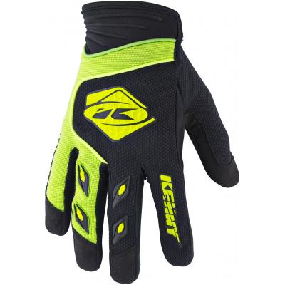 KENNY rukavice TRACK 18 dětské lime/black