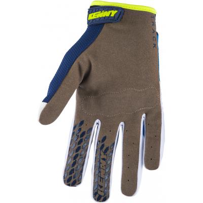 KENNY rukavice TRACK 18 dětské navy/cyan