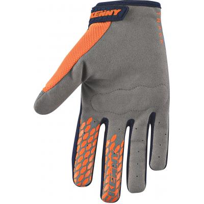 KENNY rukavice TRACK 18 detské orange / sky
