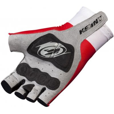KENNY cyklo rukavice MITTEN ROUTE 11 red/white