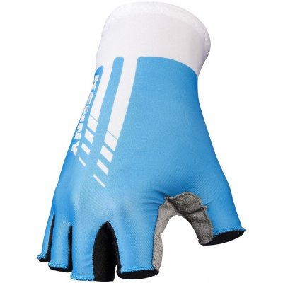 KENNY cyklo rukavice MITTEN ROUTE 11 blue/white