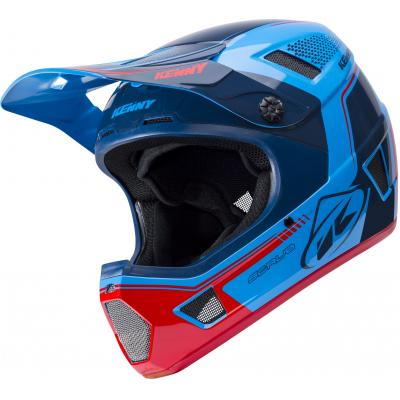 KENNY cyklo přilba SCRUB 18 blue/red