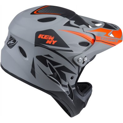 KENNY cyklo přilba DOWNHILL 18 grey/black