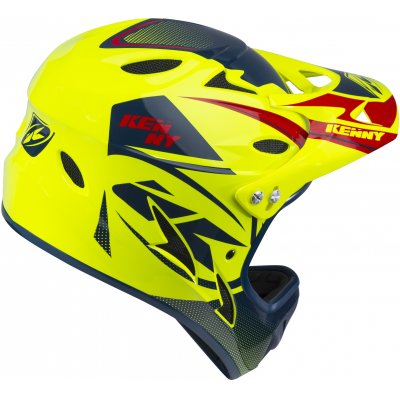KENNY cyklo přilba DOWNHILL 18 neon yellow/navy