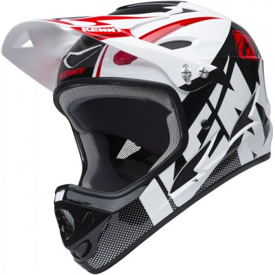 KENNY cyklo přilba DOWNHILL 18 white/black