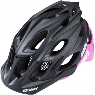 KENNY cyklo přilba ENDURO S2 18 black/pink