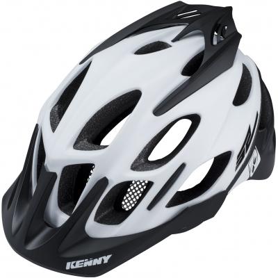 KENNY cyklo přilba ENDURO S2 18 white