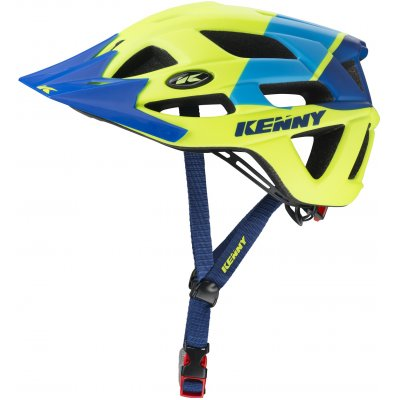 KENNY cyklo přilba K2 17 neon yellow/blue