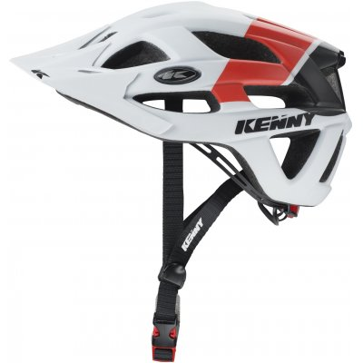KENNY cyklo přilba K2 17 white/red/black