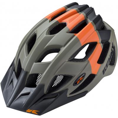 KENNY cyklo přilba K2 18 kaki/orange