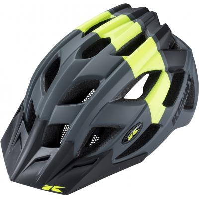 KENNY cyklo přilba K2 18 grey/yellow