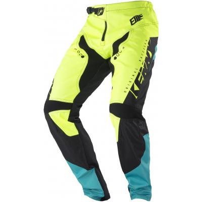 KENNY cyklo kalhoty ELITE 18 dětské neon yellow