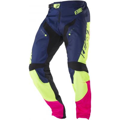 KENNY cyklo kalhoty ELITE 18 dětské navy/lime