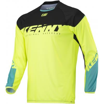 KENNY cyklo dres ELITE 18 neon yellow
