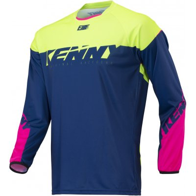 KENNY cyklo dres ELITE 18 navy/lime