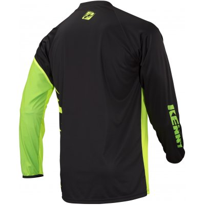 KENNY cyklo dres FACTORY 18 black/lime