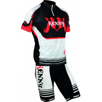 KENNY cyklo dres COURT K2 10 red