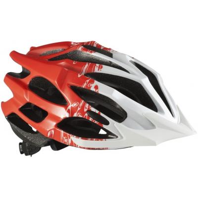 KENNY cyklo přilba SPLASH 12 red