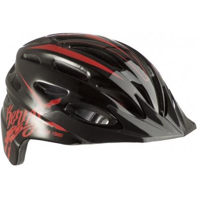 KENNY cyklo přilba ORGANIQUE 12 black/red