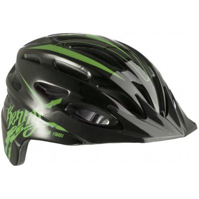 KENNY cyklo přilba ORGANIQUE 12 black/green