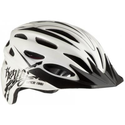 KENNY cyklo přilba ORGANIQUE 12 white/black