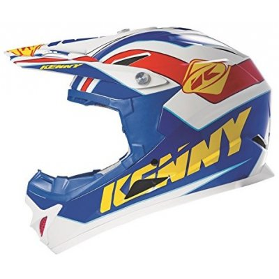 KENNY cyklo přilba ROCKET 15 blue/yellow/red